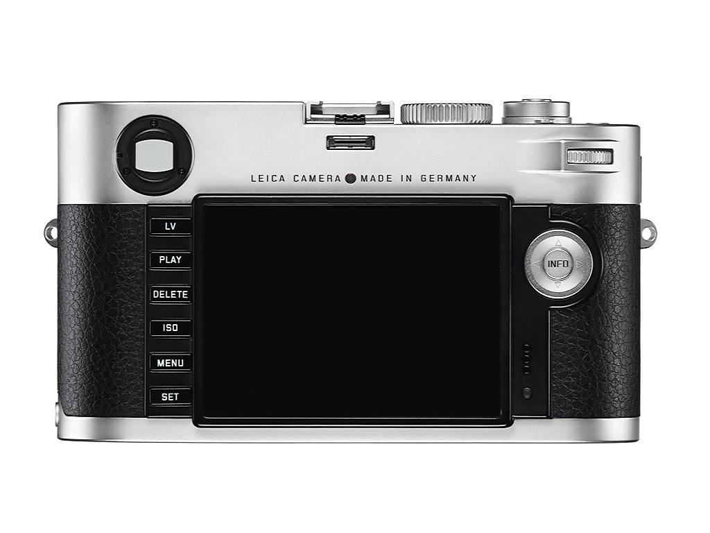 Zilver achterkant Leica M (240)